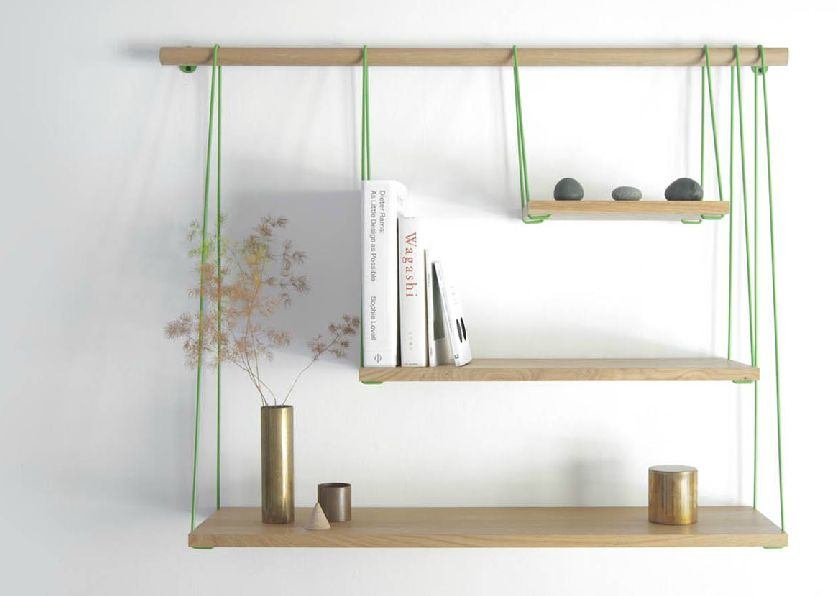 DIY Hanging Rope Shelf Chris Kaiser Builder
